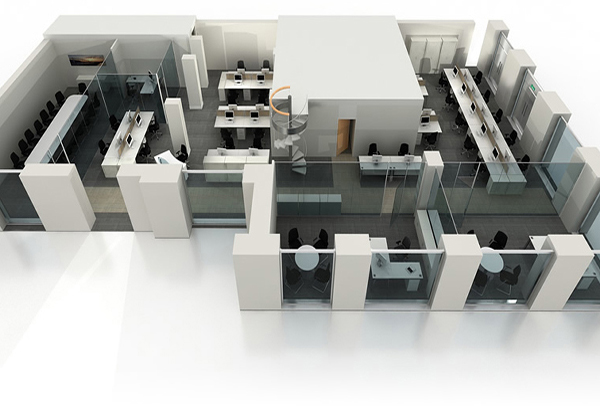 CANVASS Multimedia Production Best 3D Office Design